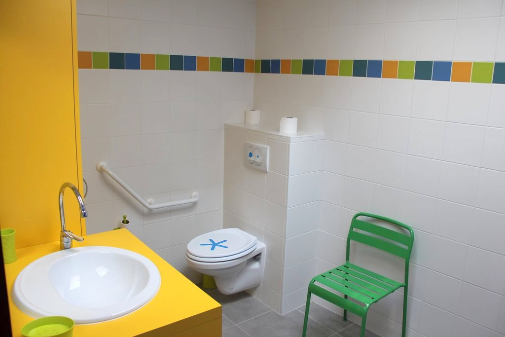 Salle de bain du gîte Etoile de mer