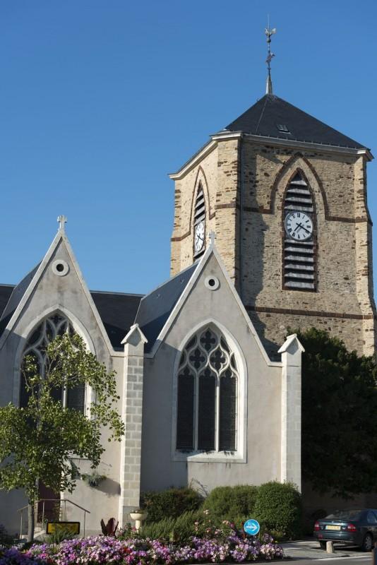 Découverte de l'église de la Plaine sur Mer