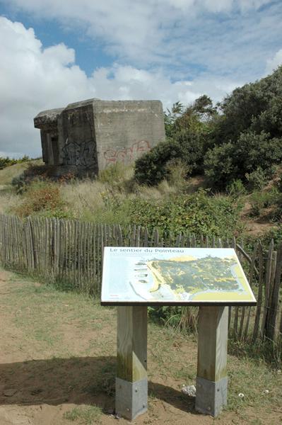 Le sentier découverte du Patrimoine militaire du Pointeau